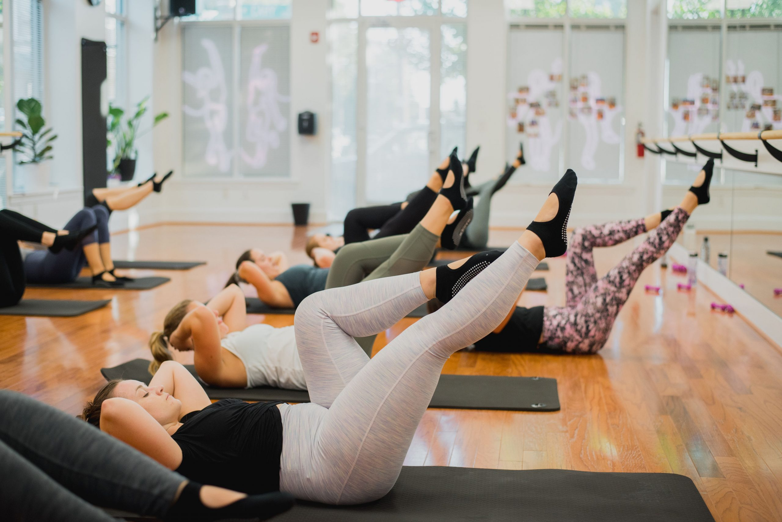 Why we do ab exercises in our cardio dance classes