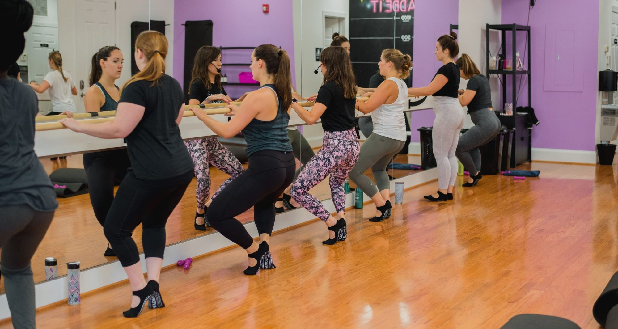 The method behind our cardio barre classes